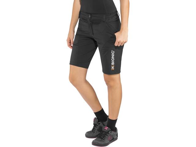 X-Bionic Mountain Bike Spodnie rowerowe Kobiety, black